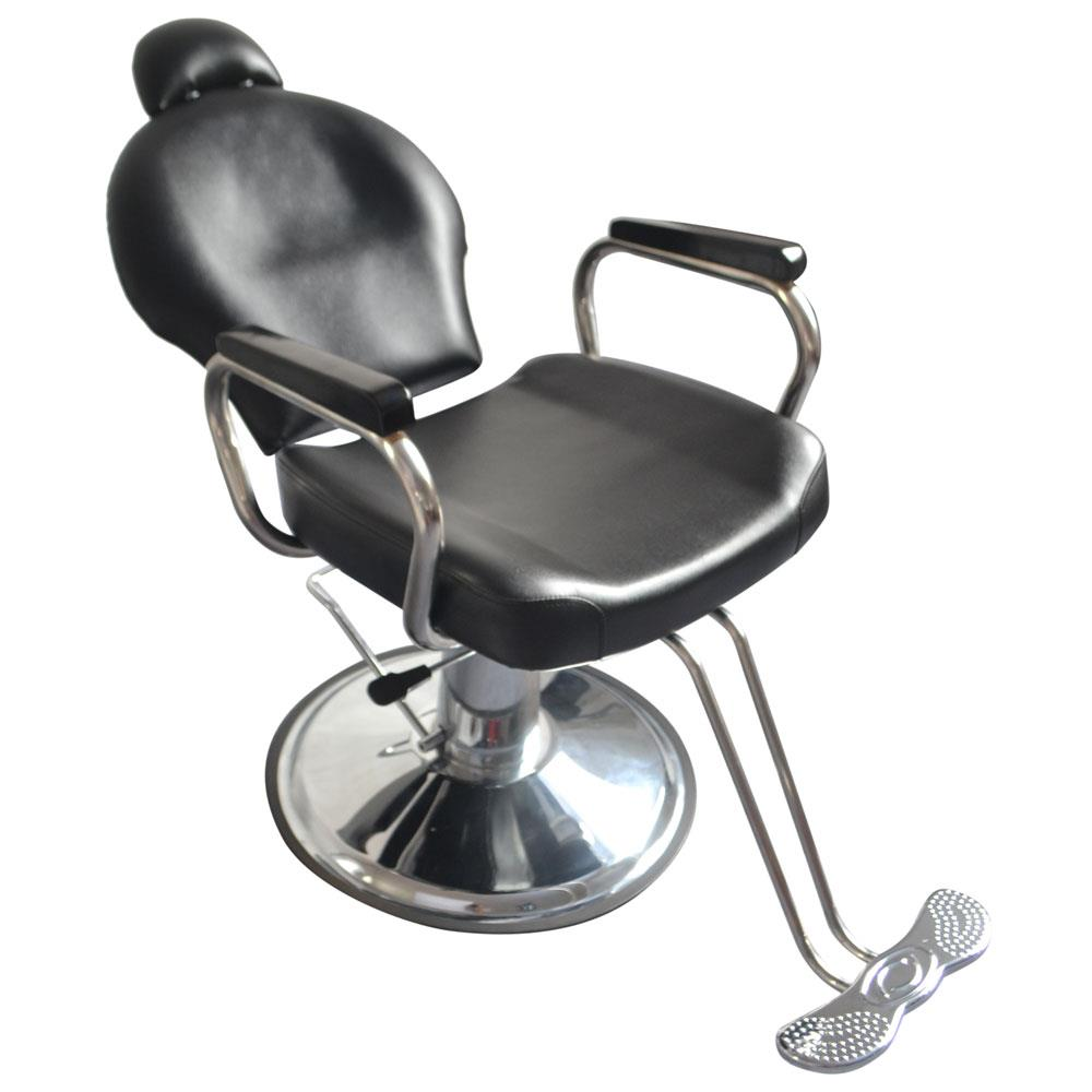 Enjoyable Details About Reclining Hydraulic Heavy Duty Barber Shampoo Salon Chair Hair Styling Spa Black Lamtechconsult Wood Chair Design Ideas Lamtechconsultcom
